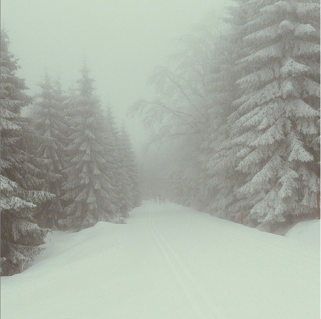 jizerky v zime