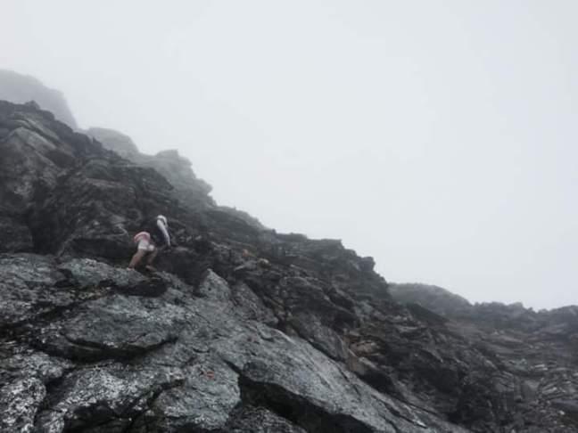 stoupání nebo lezení?