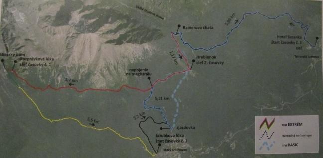 mapa nahradni trate